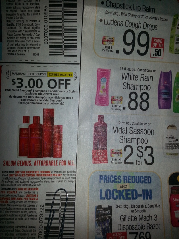 Shop Rite deals 12/8/13